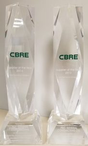 CBRE Award Winners
